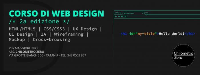 Corso di web design for Corso di designer